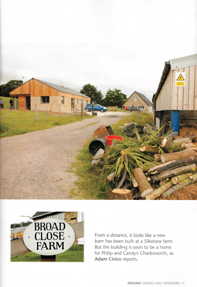 Broad Close Farm featured in Mosaic Magazine